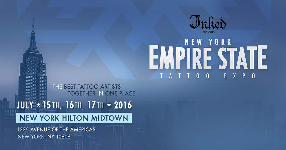 July 15-17th – Empire State Tattoo Expo