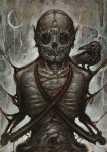 """""""Putrid Spectre"""" Original Painting"""