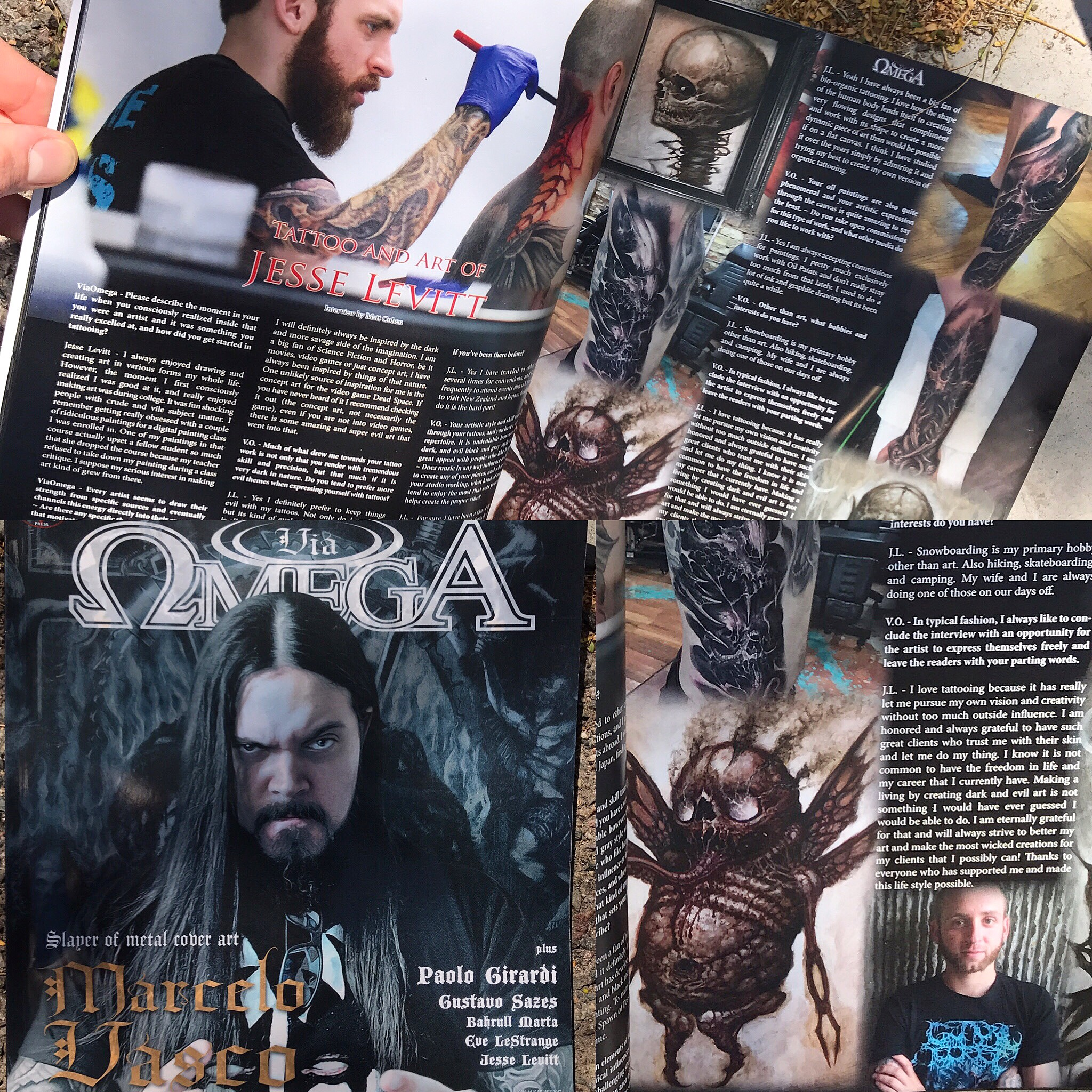 Omega Magazine Feature